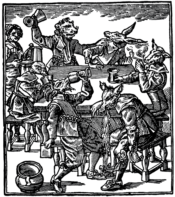 Gif Ing The Woodcut Or Early Modern Party Animals